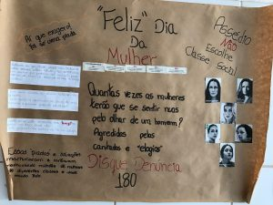 Plakat in Brasilien auf dem GFK Seminar
