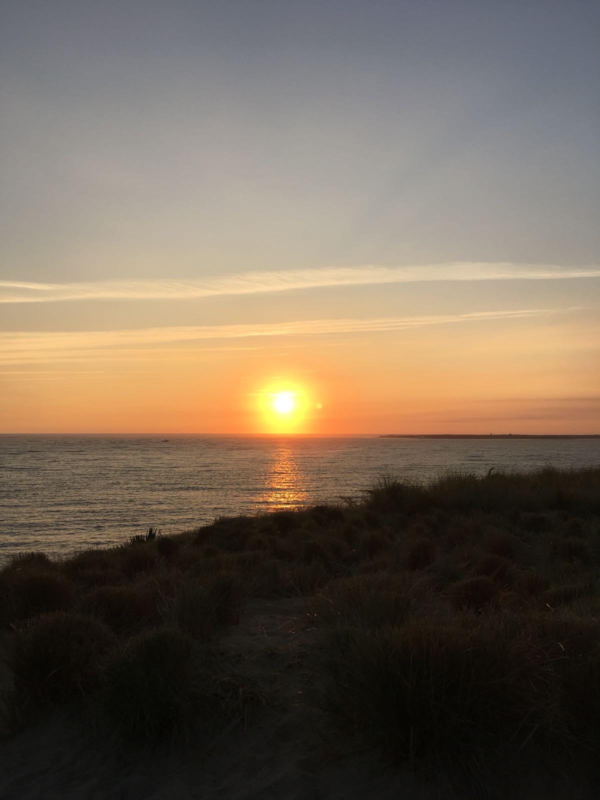 Sonnenuntergang in Brasilien auf dem GFK Seminar