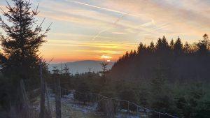 Sonnenuntergang im Sauerland